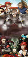 Tales of the Abyss Genderbent AU by MR-Leach