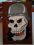 SO ANGRY SO SKULL by DirtySeagulls