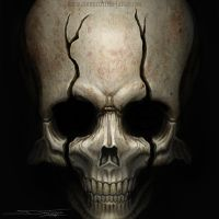 One more skull by AtomiccircuS