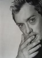 Jude Law by AnoukR by PortraitPencilArt