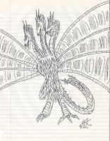 King Ghidorah by KAIJUGOD