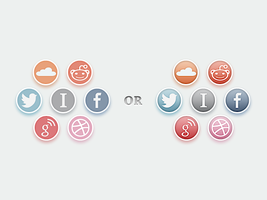 Social Icon Options by eli42291
