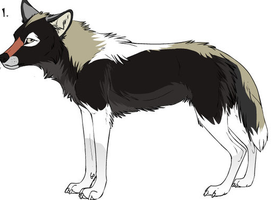 Calico the Wolf by dogo987