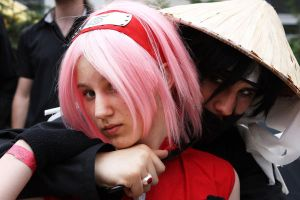 Sakura __ Itachi by Black--Deamon