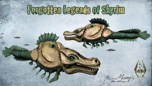 Sea Monster - The Forgotten Legends of Skyrim by KevinMassey