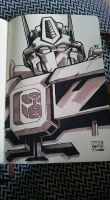 Marker Practice 5: IDW Optimus Prime by Natephoenix