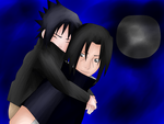 Uchiha Brothers - Youth by Kali15