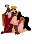 King Stefan  and Prince Phillip playing around by FinsFlipper