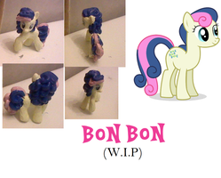 Bon Bon, WIP by Hope-Loneheart