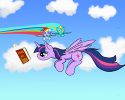 Don't Read While Flying by ArcusWind