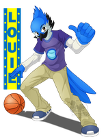For Blooperkoopa19: Pick-up Game by slimthrowed