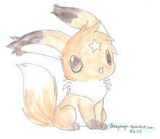 fox rabbit hybrid: Ruru by Shineymagic