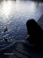 me and the lake by KiSDream