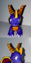 Spyro sculpture by xNIR0x