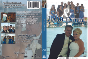 John and Donna Gordon Wedding Cover by EvlD