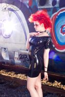 Latex Train 02 by GuldorPhotography
