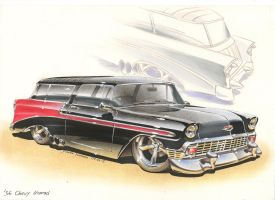 '56 Chevy Nomad by DominikScherrer