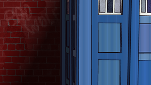 Doctor Who TARDIS Wallpaper 1920x1080 and 1280x720 by hypnolad