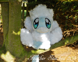Mega-ly Cute Altaria by FeatherStitched
