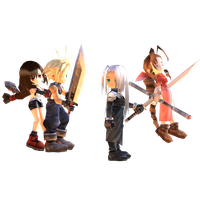 Final Fantasy VII : Chibi characters pack. by Kukla-Factory