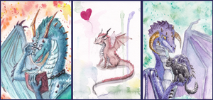 Bunch of awesomeness - dragons by Aisha-Autumn