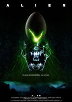 ALIEN poster by nuke-vizard