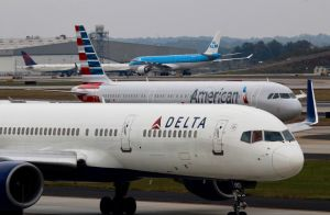 Delta, American, and KLM by AnthonyC12