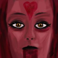 Queen of Hearts by deadinsane