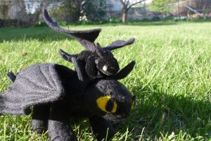 toothless prototype by cakeface