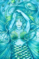 Merfaerie Goddess of the Sea by lunamagic