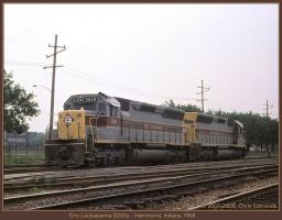 Erie Lackawanna SD45s by classictrains