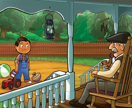 Time with grandpa. by PanaGo76