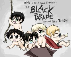 Chibi Baby My Chemical Romance by Chocoreaper