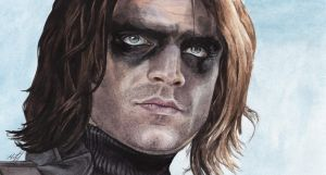 Winter soldier by KseniaParetsky