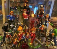 My Ben10 custom figures collection by TeenTitans4Evr
