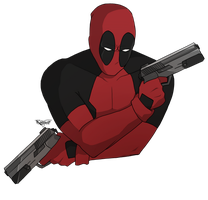 Badass!Deadpool by Kallian91