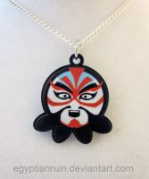 Japanese Kabuki Octopus Necklace by egyptianruin