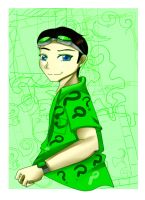 AT: Riddler by Danielle-chan