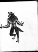 Werewolf Sketch by xEpicDorito678