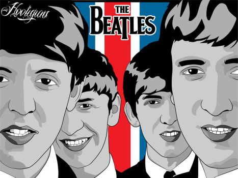 The Beatles by hooliguns
