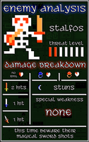 Stalfos Infoslate for Quest Two by Narishm