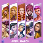 April Batch Complete by Khantian