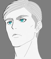 Commander Erwin Smith (SnK) by Gandalfgirl579