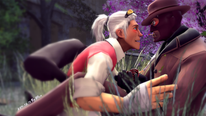 SFM-02 Red SPY and Scout by k125125123