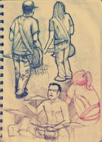 random sketches 2 by RusRed
