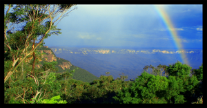 The Blue Mountains II by Rotae