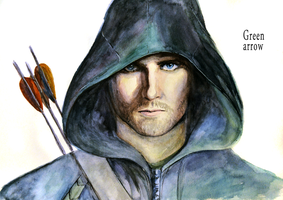 Green Arrow by hyokka