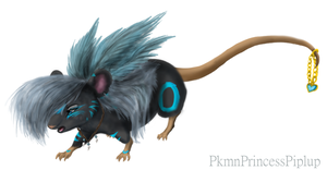 Riversongg the mouse by PkmnPrincessPiplup