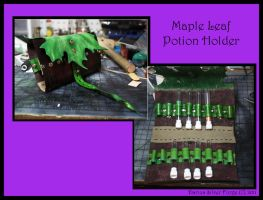 Maple Leaf Potion Holder by DariusSilver