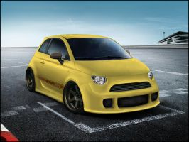 Fiat 500 Abarth by Stickyyy